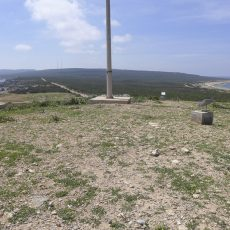 Looking westfrom the most easterly point of the Pan Handle